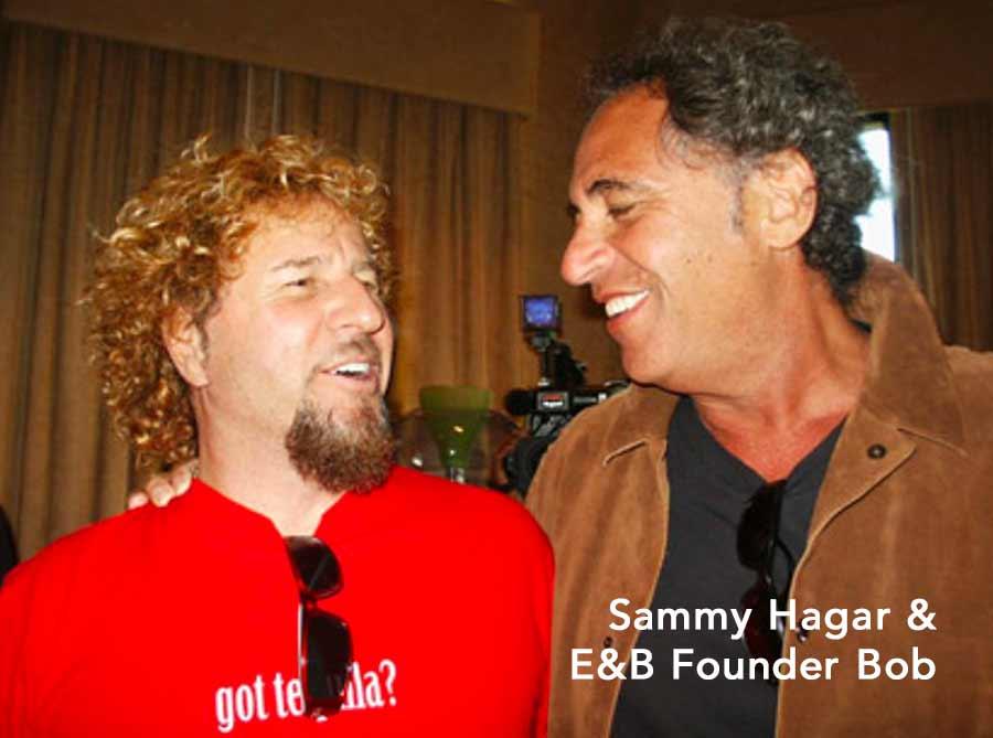 Sammy Hagar and Bob